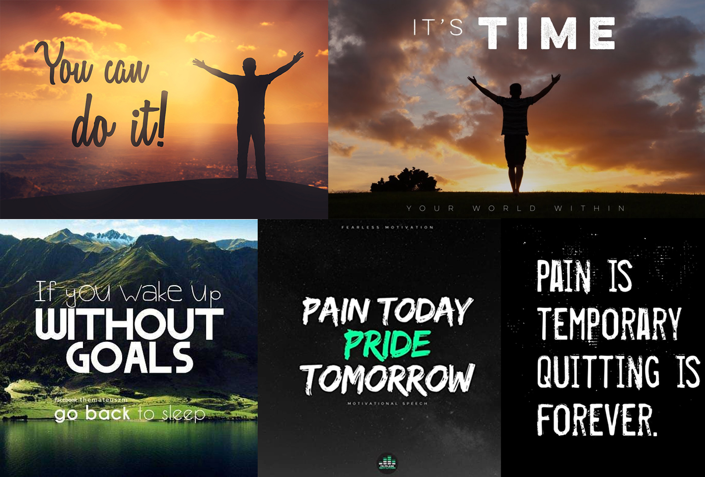 I will design motivational or inspirational quotes for Instagram
