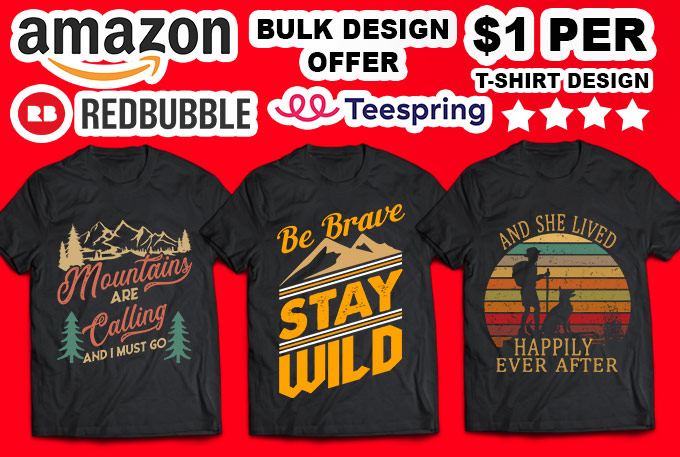 I will do creative typography and custom t-shirt design in 24 hours