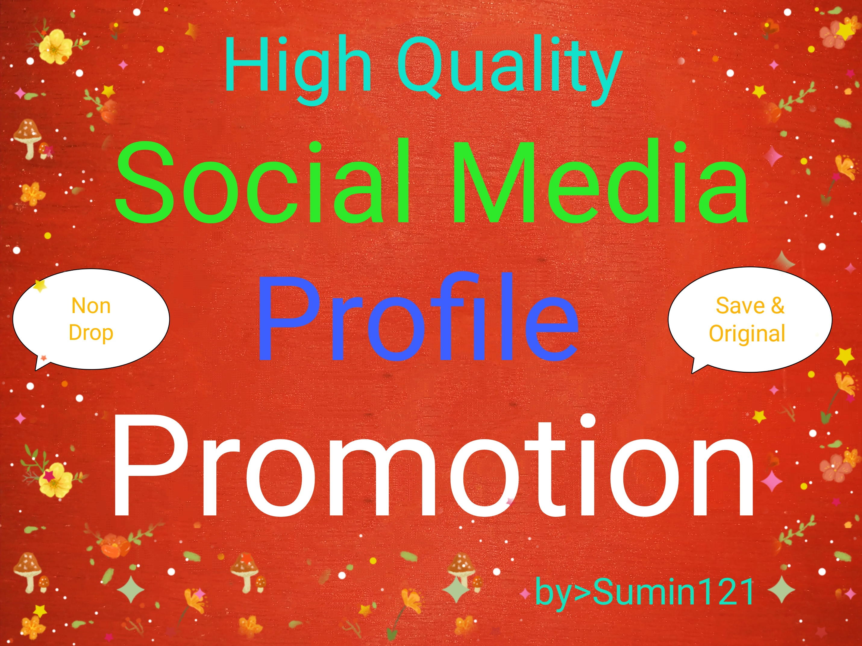 High quality real audience and social media service Super fast
