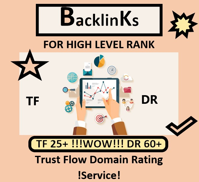 I will increase your Trust Flow TF and Domain Rating DR,  Increase Your Website To The Frist Page