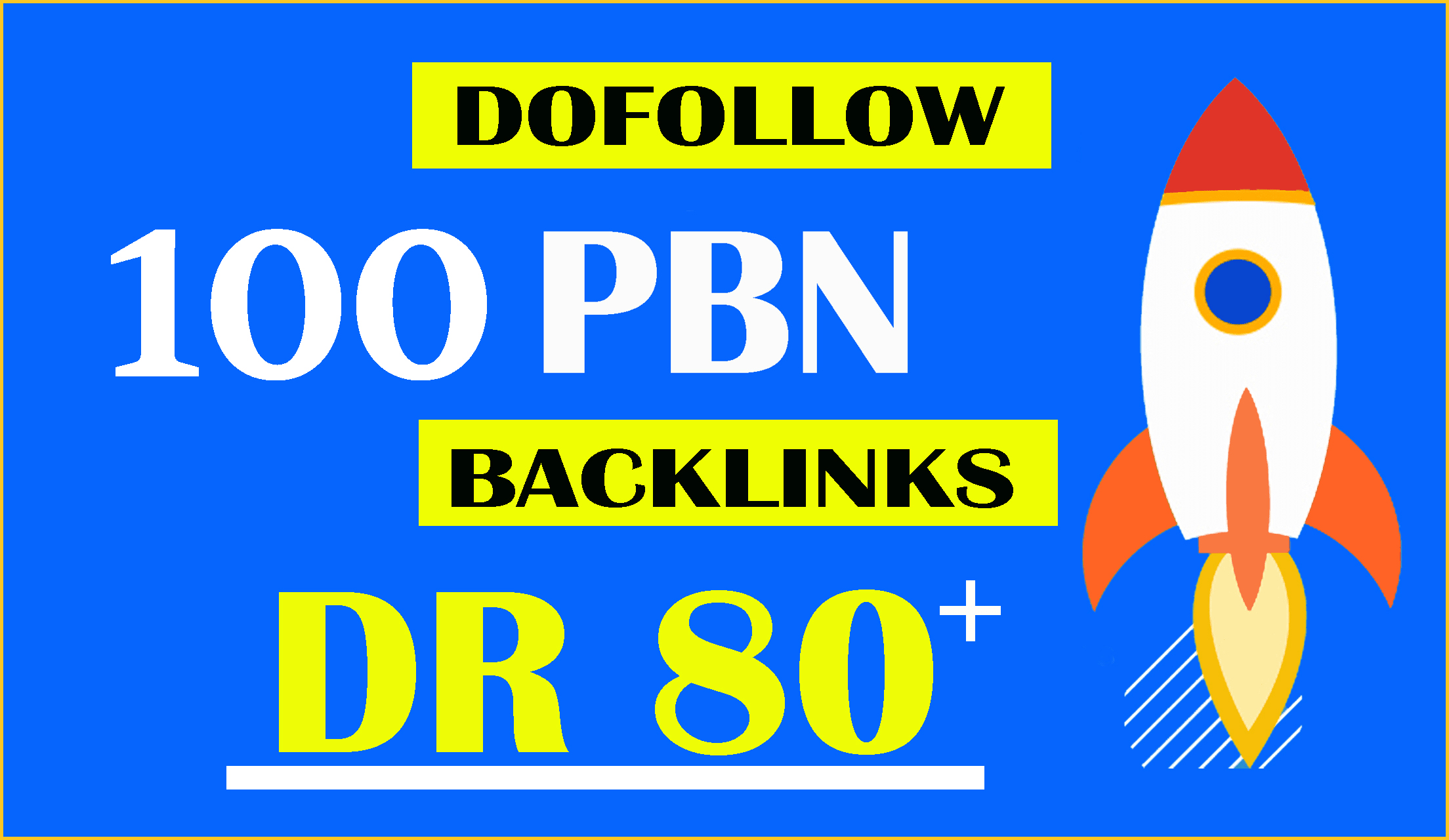 do 100 white hat high authority seo dofollow backlinks