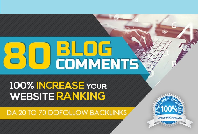 Manually 80 Unique Domains Manual Blog Comments backlinks