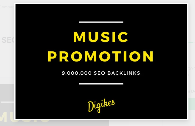 I will provide 900,000 SEO backlinks for music promotion to increase better traffic