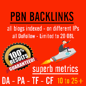 I will Do 250 Powerful Homepage PBN links with extremely high Tf Cf Da Pa