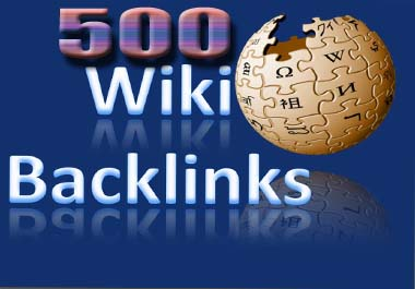 Create 500 wiki Backlinks With Excel File And Login Details