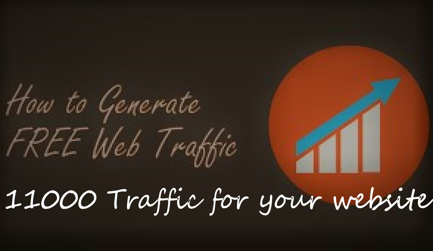 11,000 Human Website Traffic From Google, twitter and instagram Web Visitors to your website