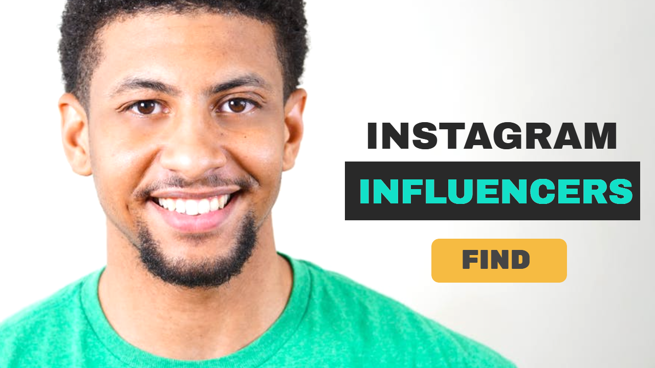 I will find you best 20 instagram influencer according to your niche