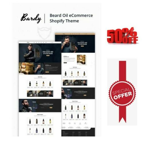 shopify store dropshipping beard oil website unlimited free trial