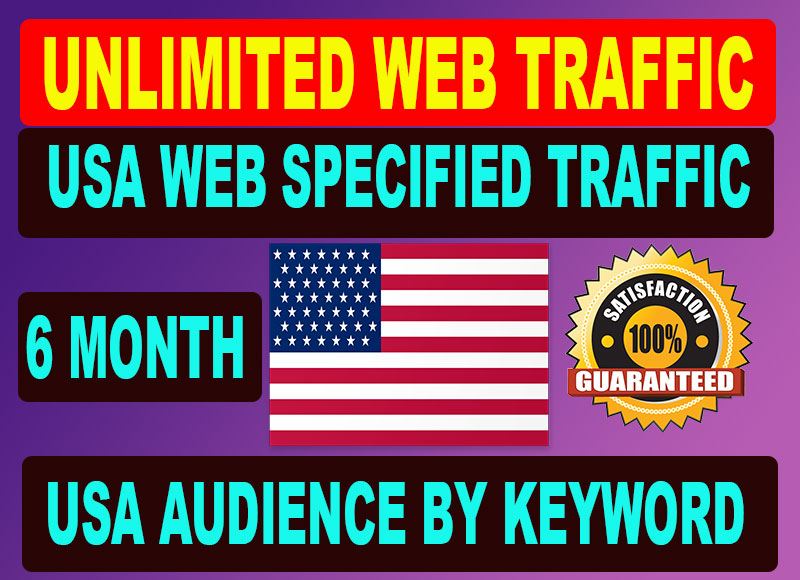 Unlimited web Traffic from top site refer youtube google ads and other search engine ad campaign