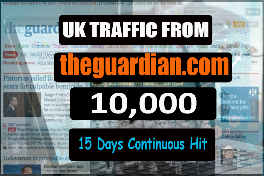 Bring targeted web traffic in your shopify or online store through theguardian