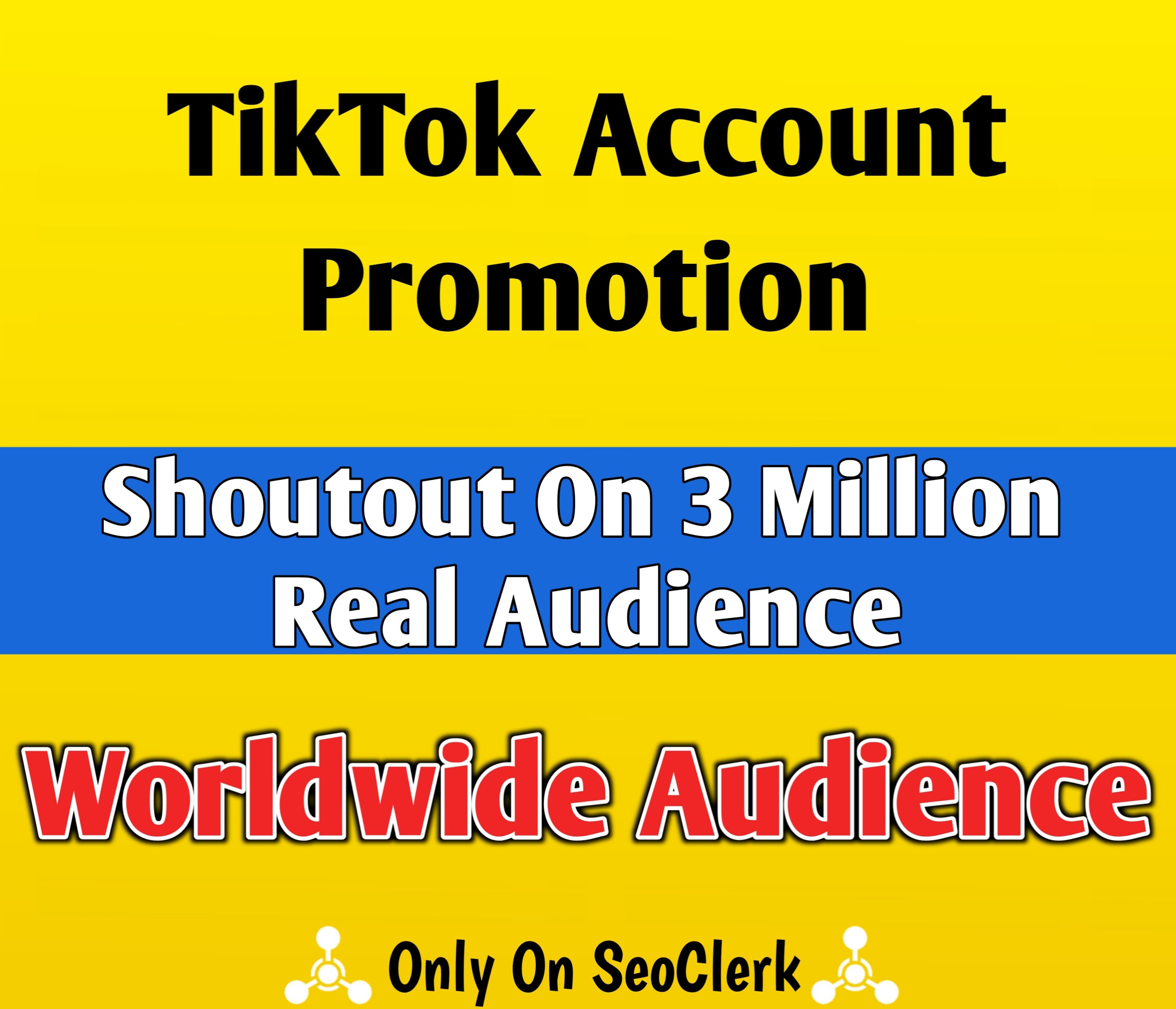 TikTok Account Promotion and Marketing With Social Audience