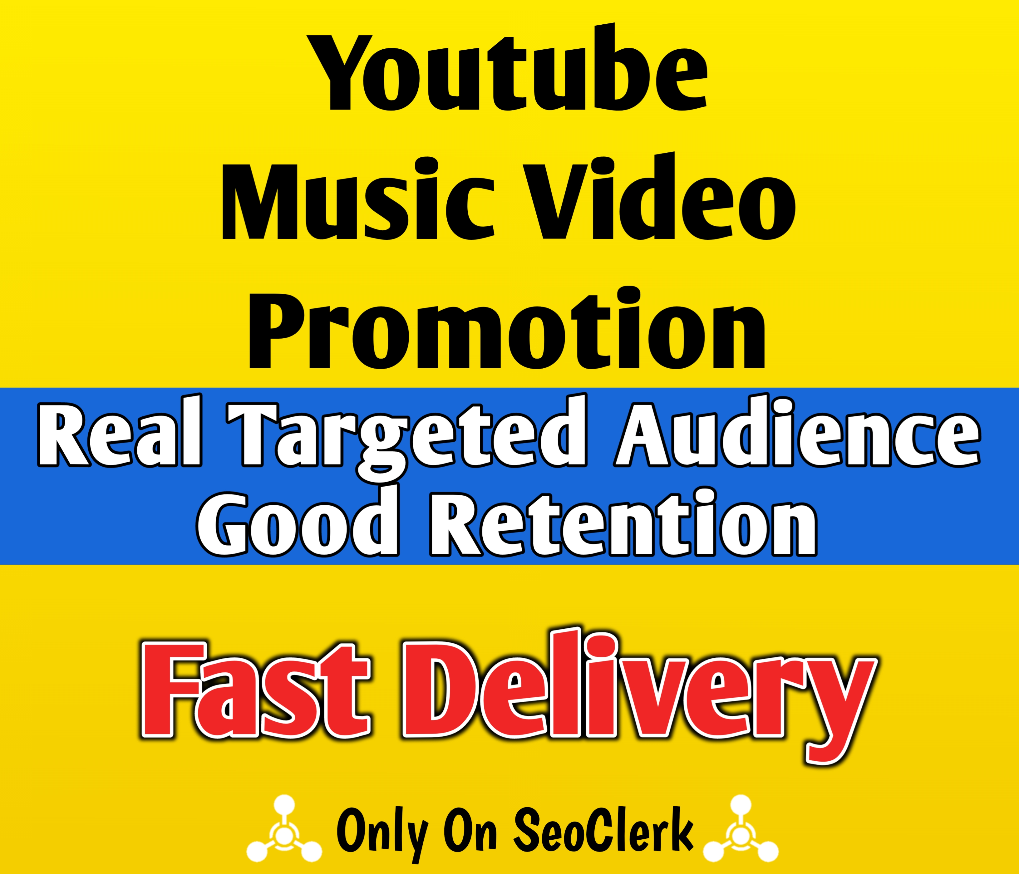 High Retention YouTube Music Video Promotion Marketing With Super Fast Delivery