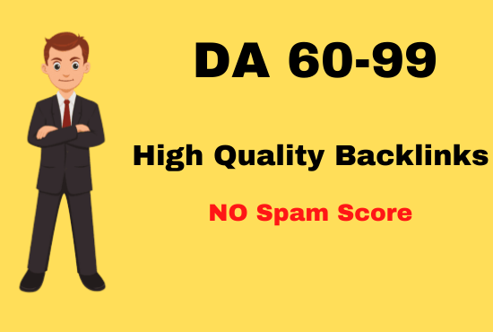 I will build 200 high quality DA 60 plus SEO dofollow backlinks