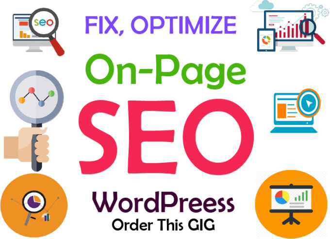 I will do on page optimizations by yoast seo