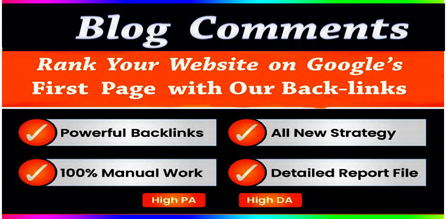 I will provide Spam score 10 below 100 high quality dofollow blog comments backlinks