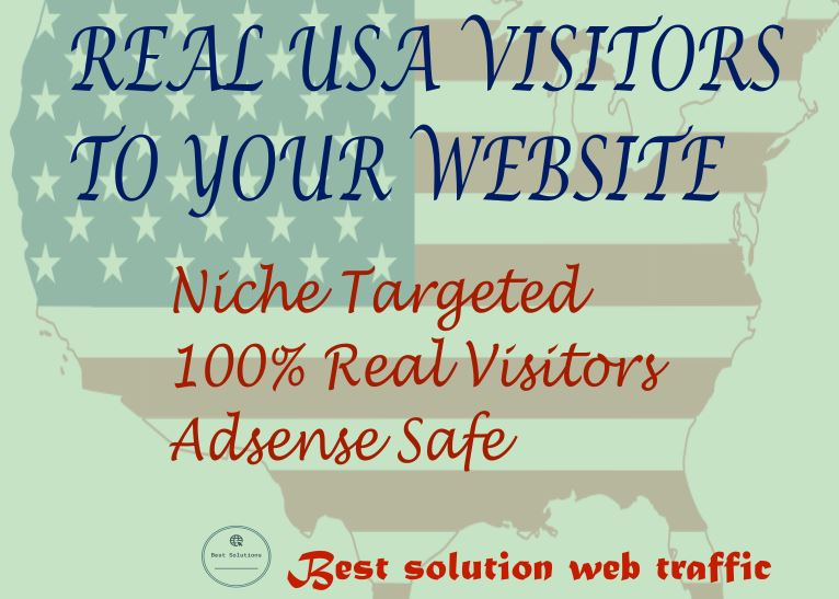I will bring USA targeted 100-200 daily visitors to your website.