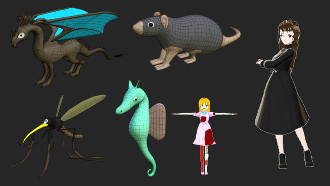 Create and animate 2d character for your game