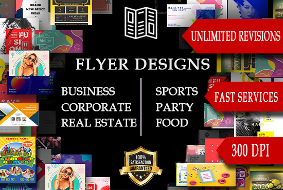 Design trend and colourful party posters,  flyers and brochures