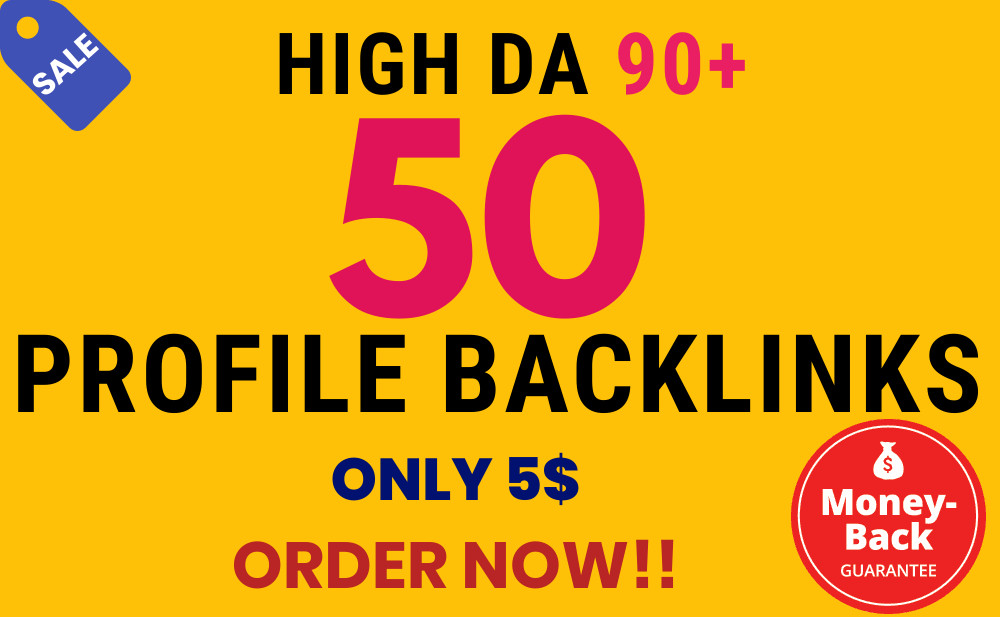 Get High Quality Dofollow Profile Backlink Instantly