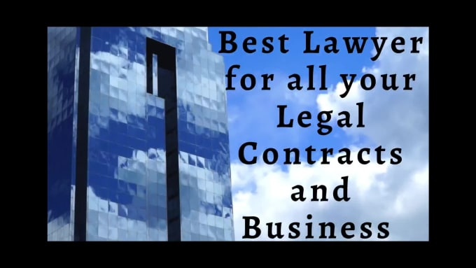 I will Draft ONE contract/agreement,Employment, Business,corporate Contract,sales and property matte
