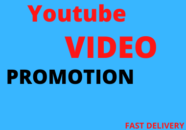 Youtube Video Marketing and social Ranking Promotion