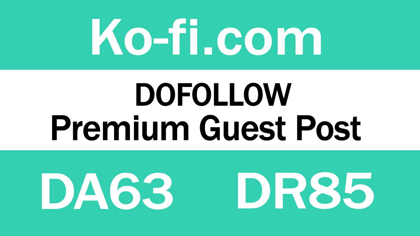 Guest Post on Ko-fi. com - DA63