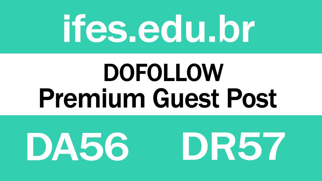 Guest Post on Brazil EDU Website > Ifes. edu. br