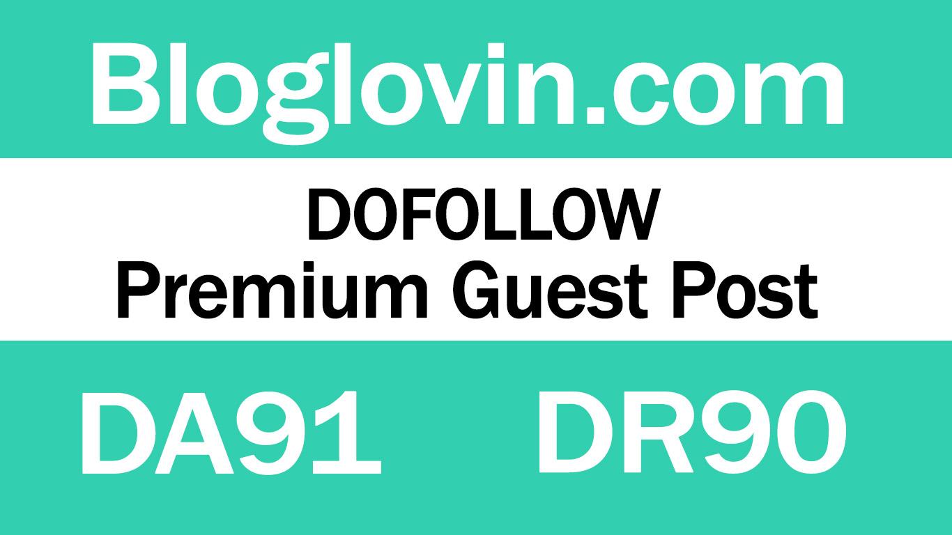 Guest Post on Bloglovin. com - DA91 DR90