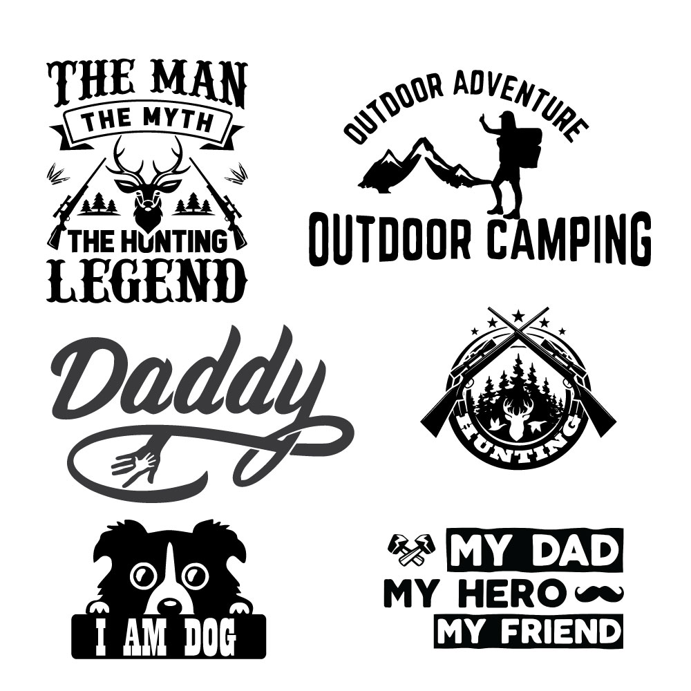 I will design professional, unique and typography t shirts