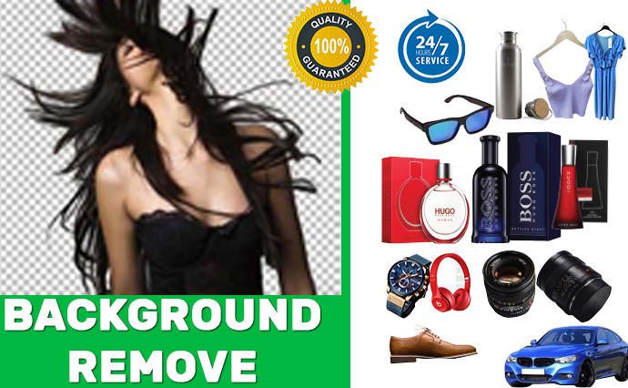 I will create clipping path and remove images background