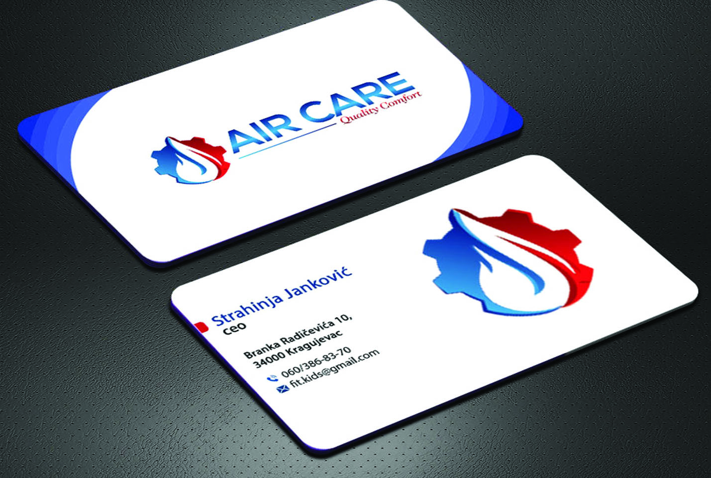 design professional business card design