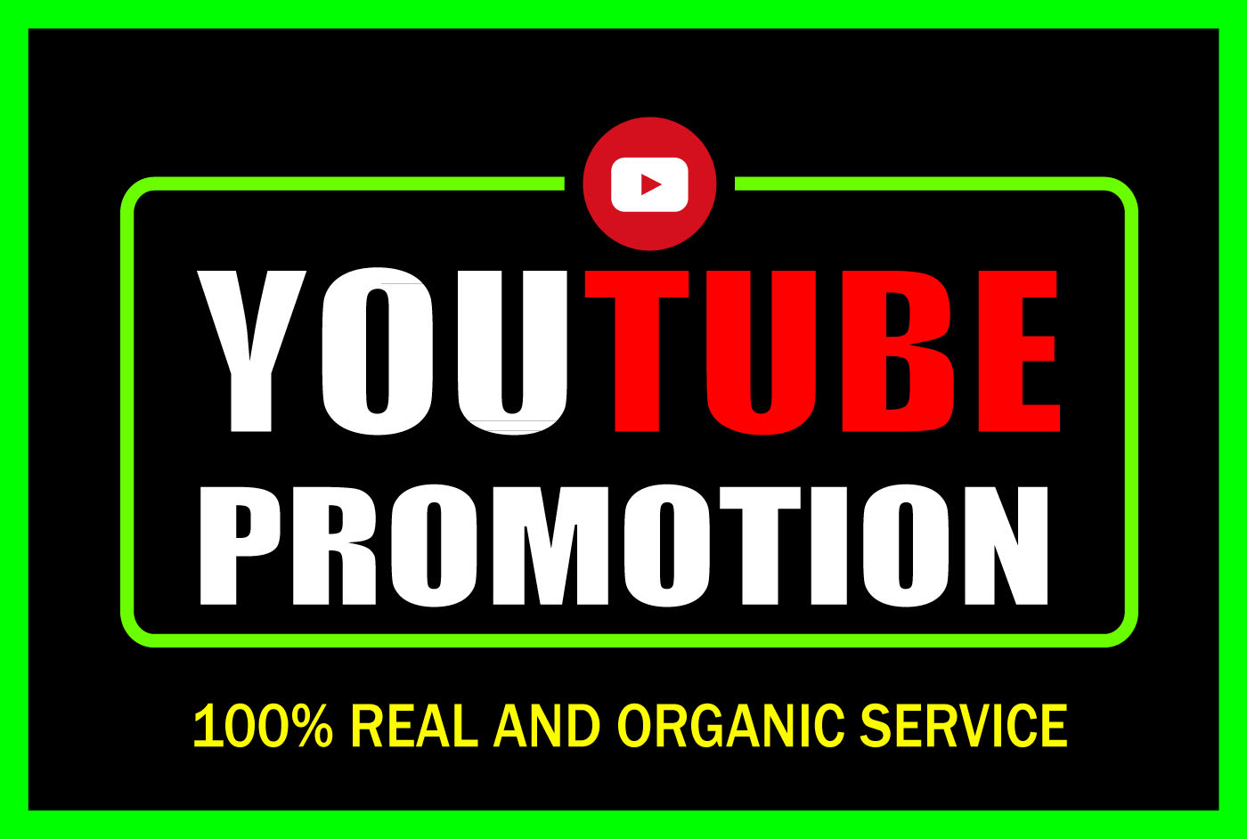 We Will Do organic YouTube video promotion