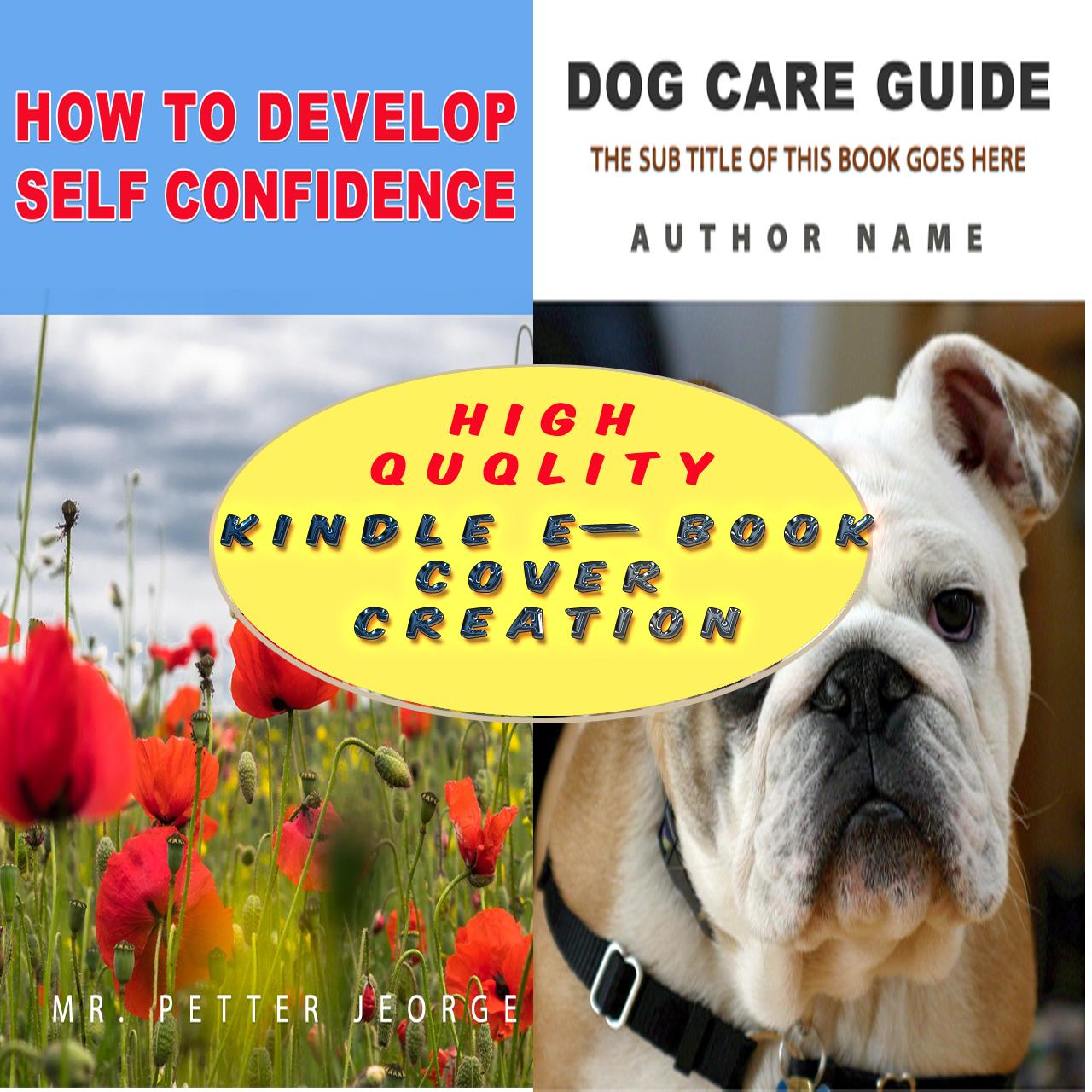 I will create a professional kindle ebook cover