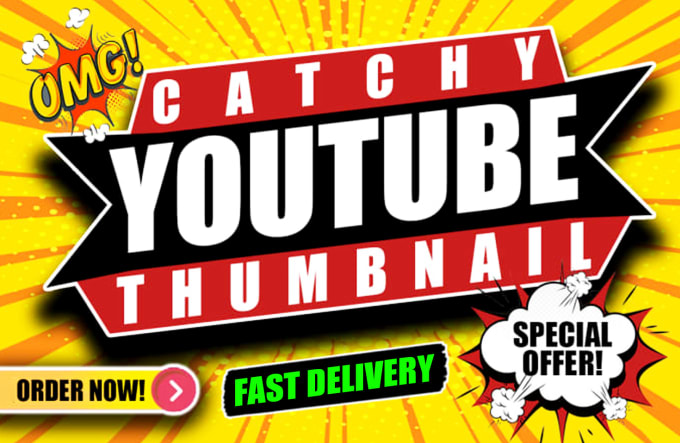 I will create eye catching thumbnails for your videos