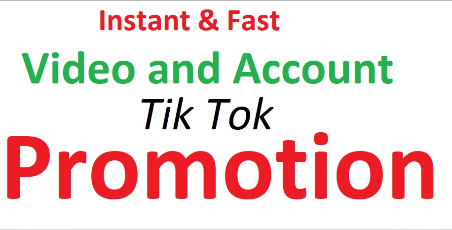 I Will Do Tik tok Video and account Promotion Fast Professionally