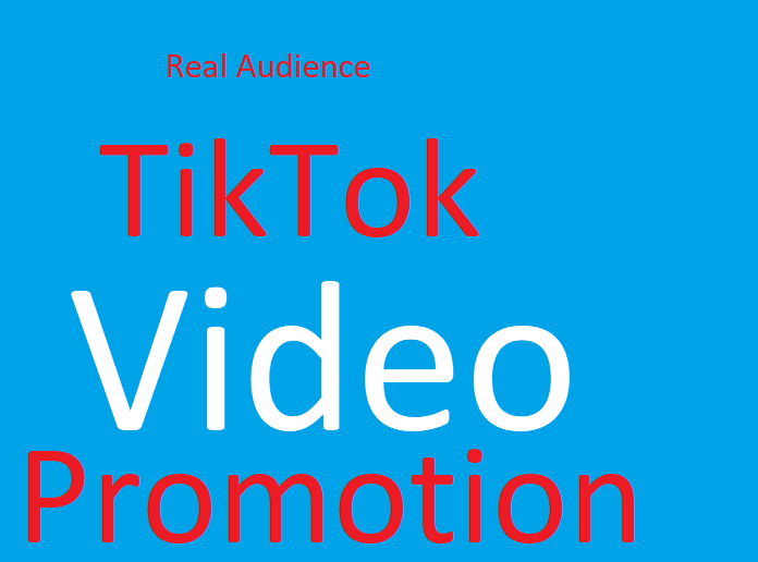 Tiktok video,  pics Promotion Safe and Fast
