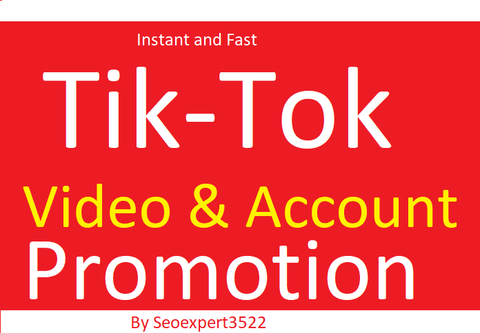 Do Organic TikTok Video Promotion By Social Audience