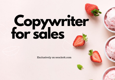 Let a native speaker write copy that sells