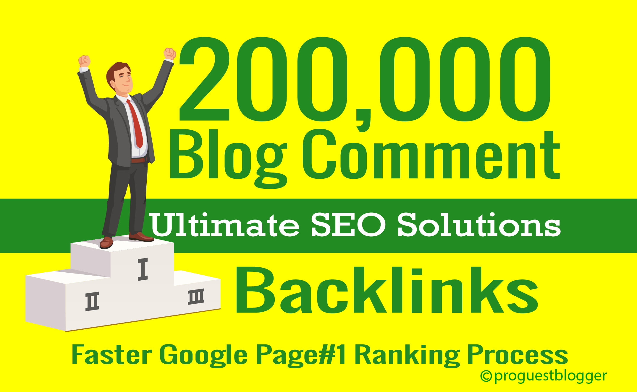 I'll create 20,000 GSA Blog Comments Backlinks for Google Ranking