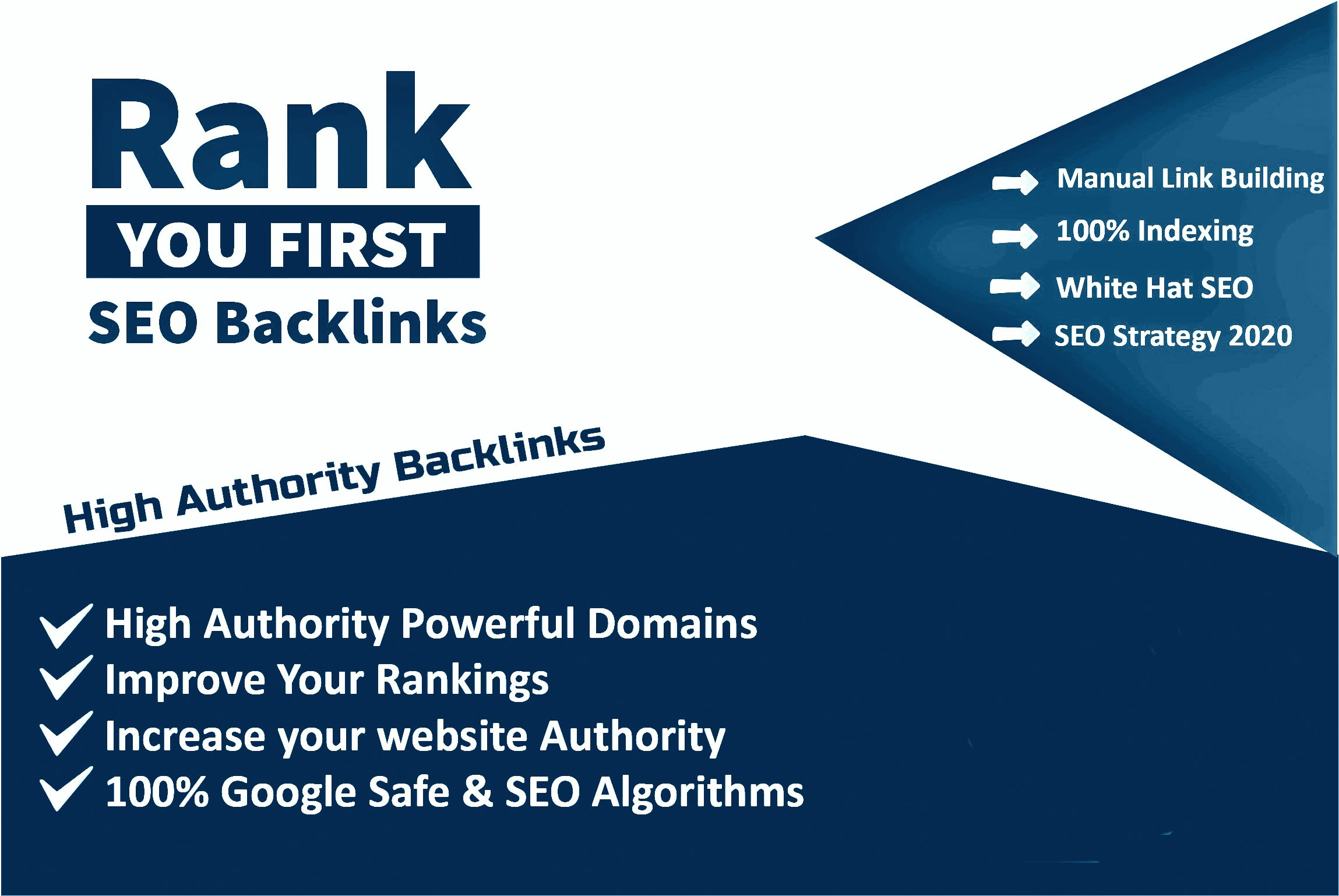 Whitehat Manual Link Building Service For Google Top Ranking
