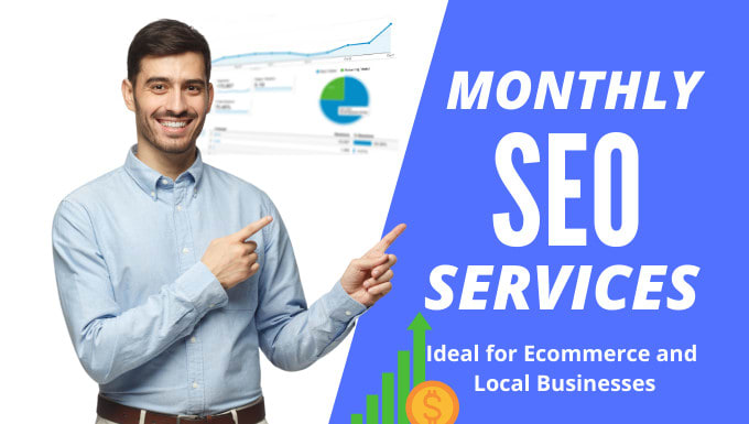 I will monthly SEO services,  for google top ranking,  on and off page optimisation