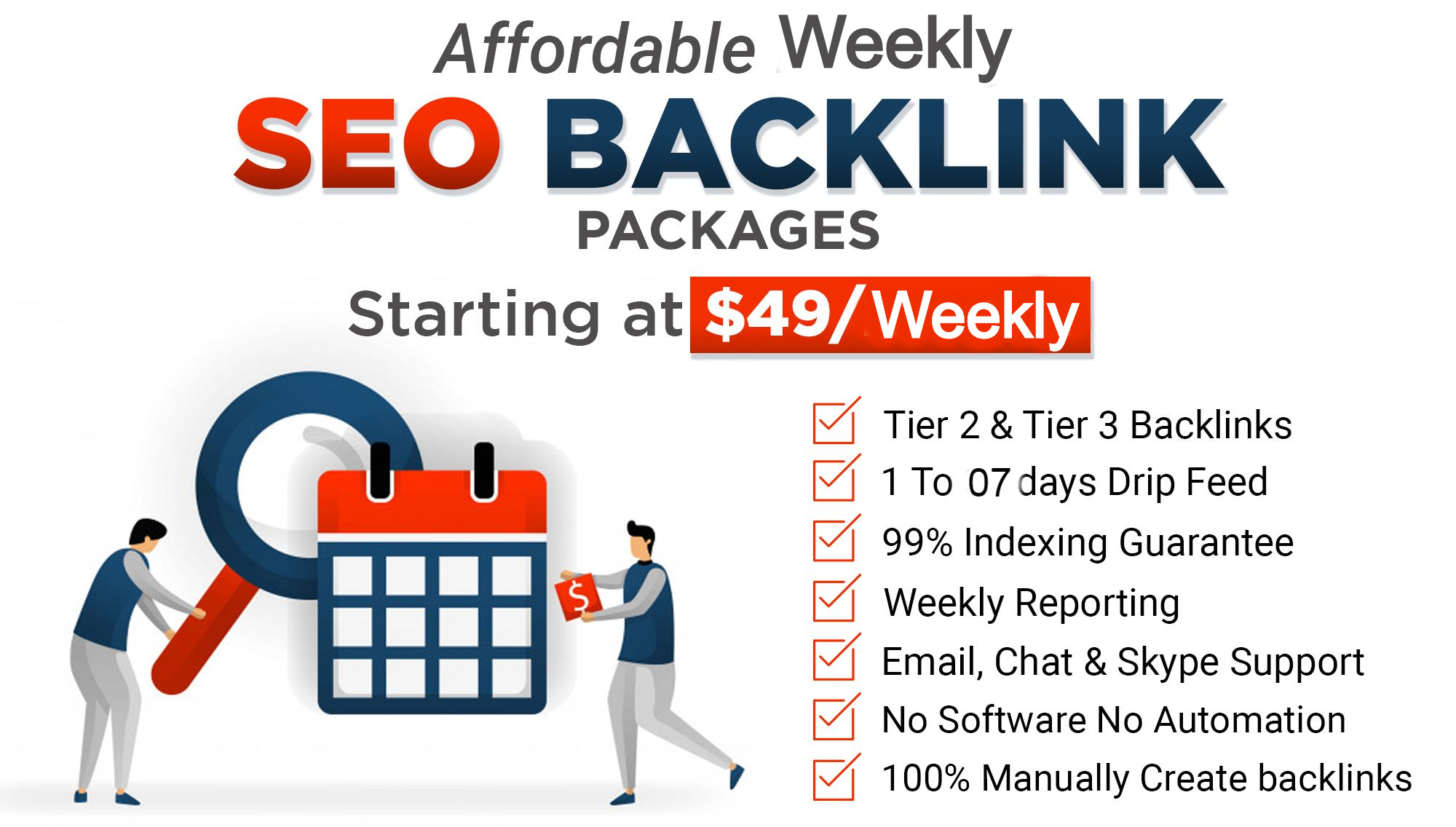 Manually Super Booster Weekly Whitehat SEO Package