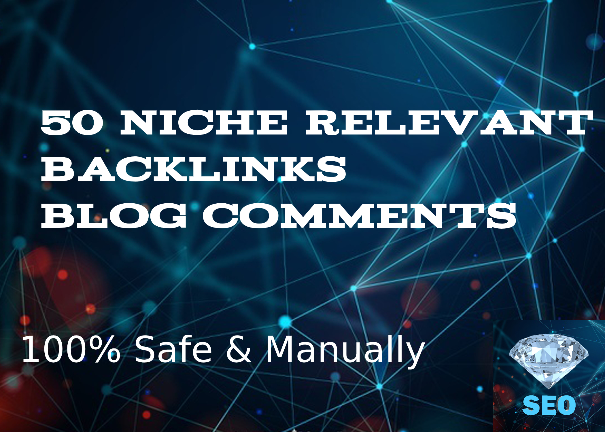 I Will Do 50 Niche Relevant Backlinks BlogComments