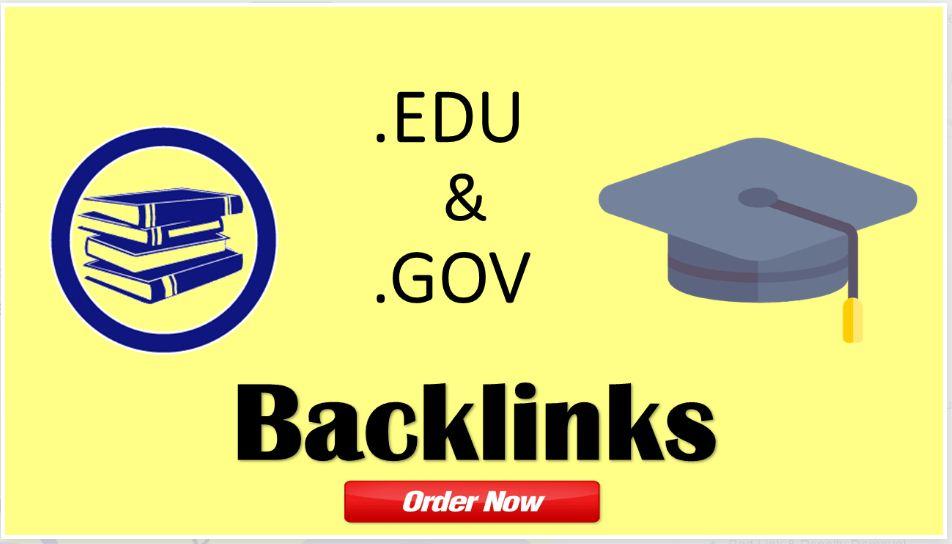 manually do 10 PR9 + 10 EDU-GOV Safe SEO High Quality Backlinks with High DA PA
