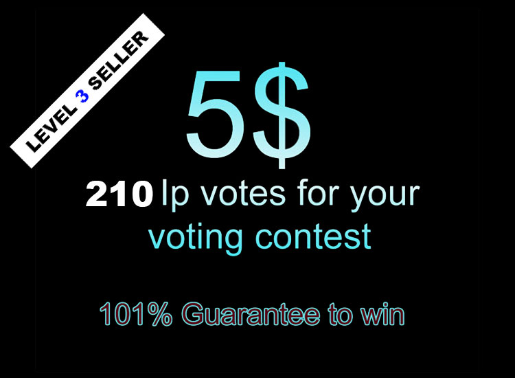 HQ Fast 210 votes for your online voting contest