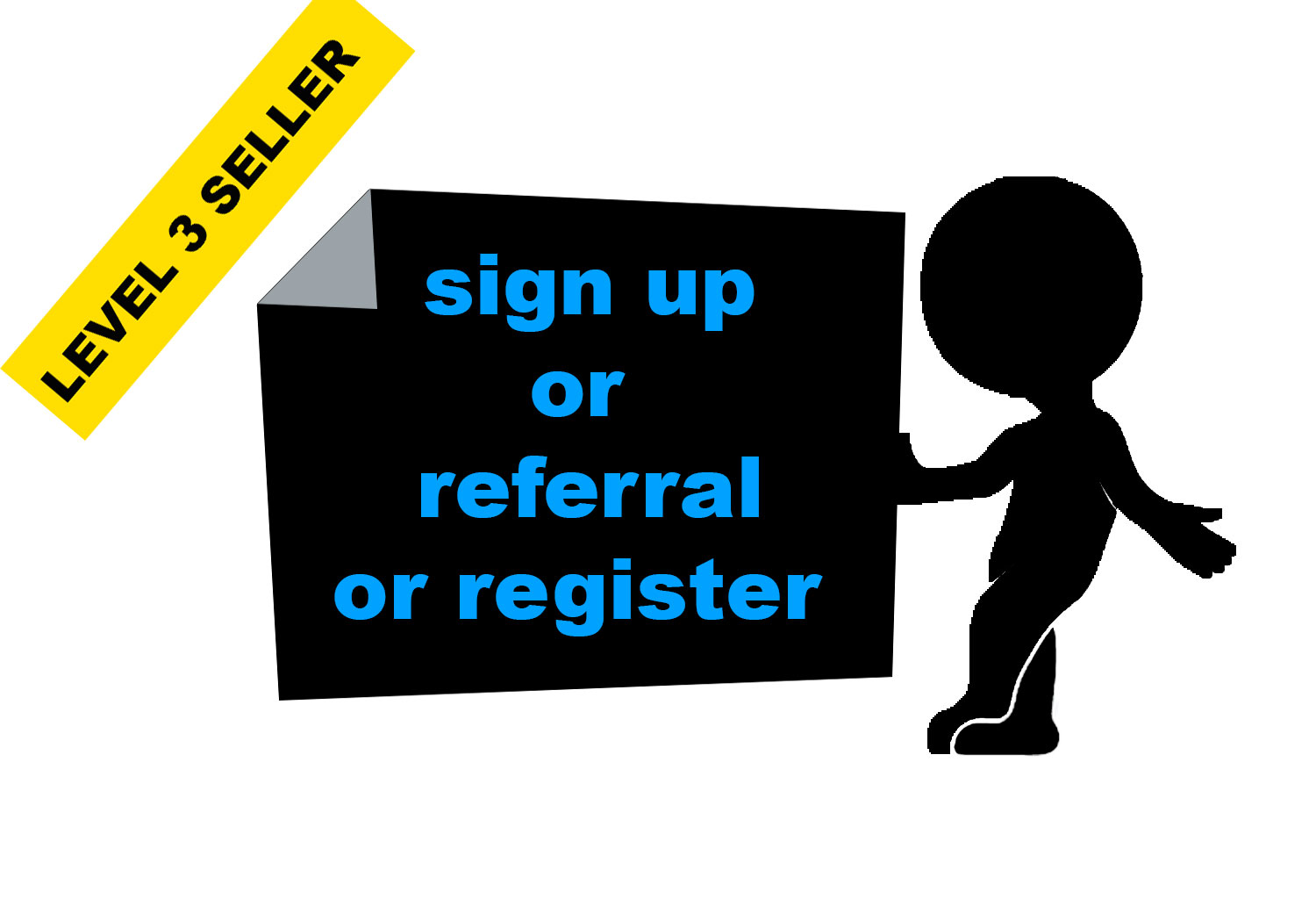 Give You 30 HQ signups or registration under any websites,  affiliate links or referral