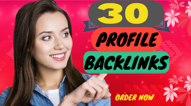 I Will Build 30+ High Authority Profile Backlinks For SEO