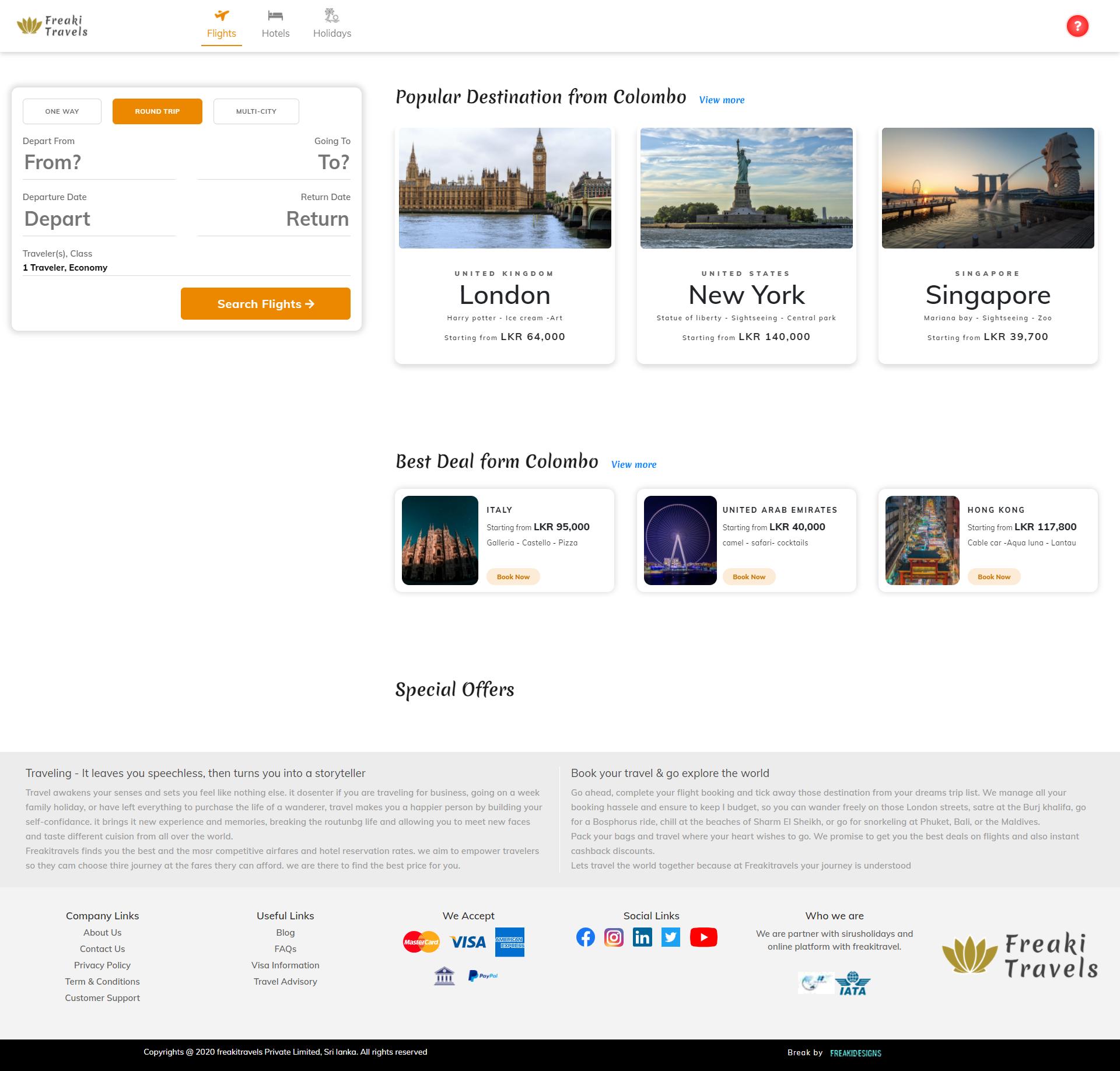 Design and Develop responsive websites using php( laravel )