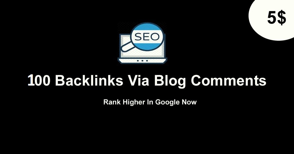 I will manually create 100 SEO backlinks blog comments on high da