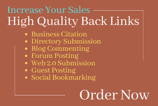 Complete Off Page SEO Service - DA 50+ High Quality Backlinks